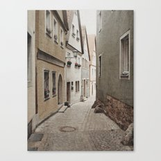 Italian Alley - Muted Tones Canvas Print
