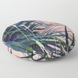 Feather Palm Floor Pillow