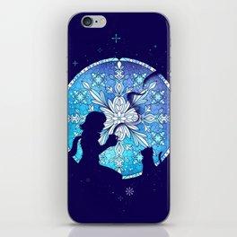 Vitral Snow Flakess iPhone Skin