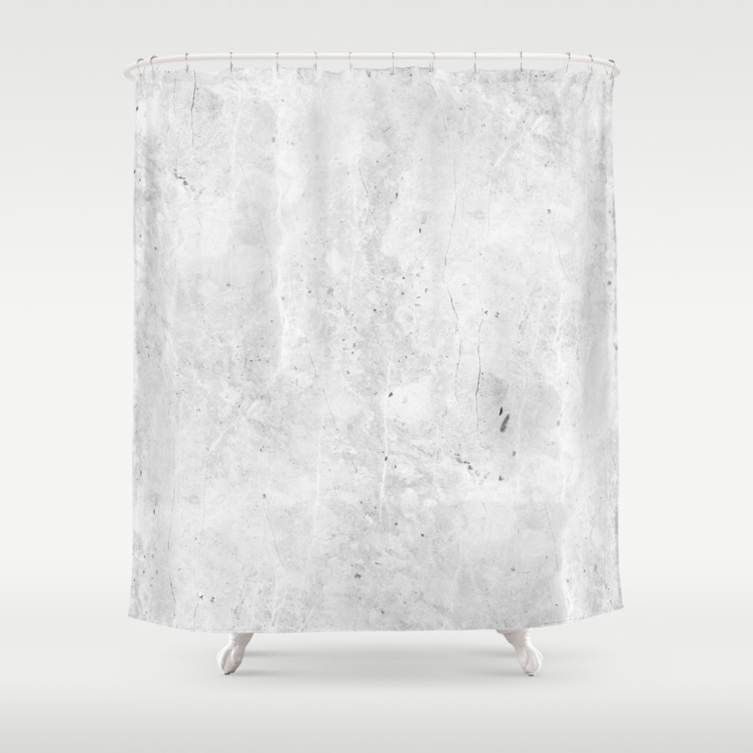 light gray shower curtain. Black white  Pattern Photography and Vintage Shower Curtains Society6