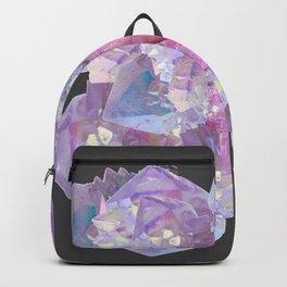 ROSE & PURPLE QUARTZ CRYSTALS MINERAL SPECIMEN Backpack