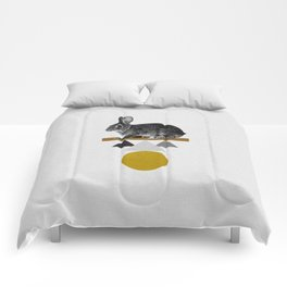 Tribal Rabbit Comforters