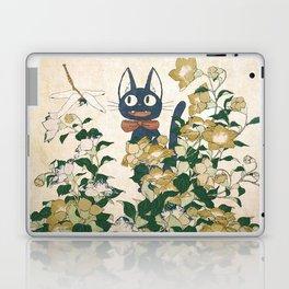 Jiji from Kiki's delivery service vintage japanese mashup Laptop & iPad Skin