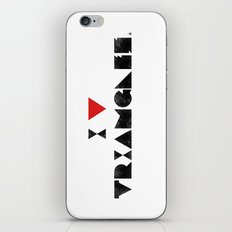 I V TRIANGLES iPhone & iPod Skin
