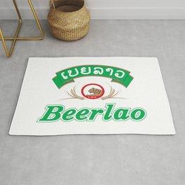 Beer Lao Rug