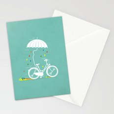 I want to ride my bike ! Stationery Cards