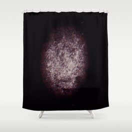 Rugby Ball Texture Shower Curtain