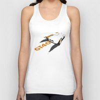 ford Tank Tops featuring Ford GT40 by VelocityGallery
