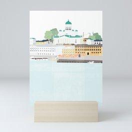 Helsinki oh Helsinki Mini Art Print