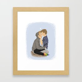 even x isak Framed Art Print