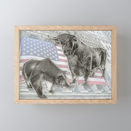 Have a NYSE day! Framed Mini Art Print