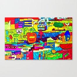 Unstable relationships Canvas Print