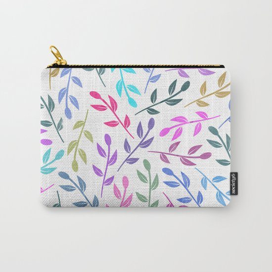 Colorful Leaves IV Carry-All Pouch