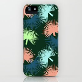 oversized palms iPhone Case