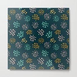 Confetti pattern Metal Print