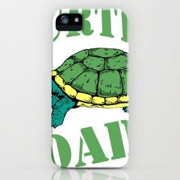 Turtle Dad iPhone Case
