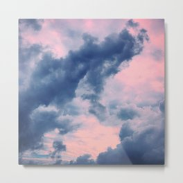 Candy Clouds of Lullaby Metal Print