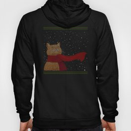 Knitted Wintercat Hoody