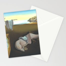 Persistence Of Memory Salvador Dali HD Restored Version Stationery Cards