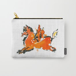Pegasus - Little prancing inspiration in watercolor Carry-All Pouch
