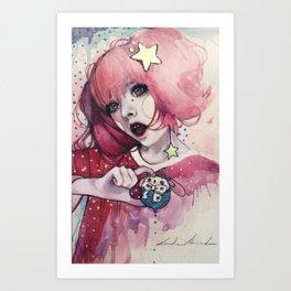 Color Me Pink Art Print