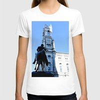 onward T-shirts featuring Onward (Philadelphia) by Julie Maxwell