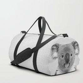 Koala 2 - Black & White Duffle Bag