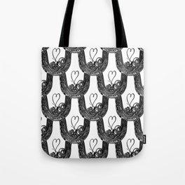 Saint Frank Flock Pattern Tote Bag