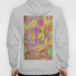 A Dragonflies and Dots Hoody