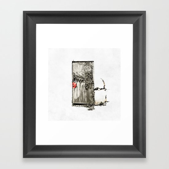 Past/Present/Future Framed Art Print