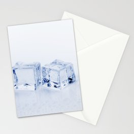 Ice Cubes Stationery Cards
