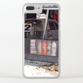 City Boys Not Allowed Clear iPhone Case