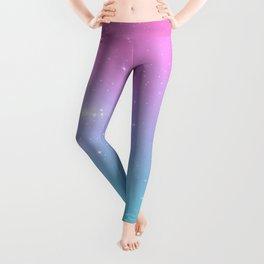 Pastel Goth Galaxy Leggings