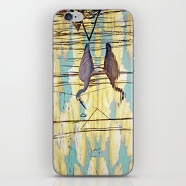 Wading Through Clouds iPhone Skin
