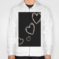 Love Hearts  Hoody