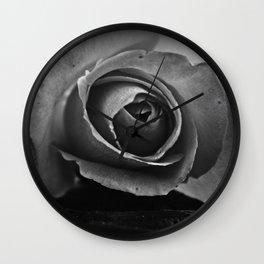 Tones of Grey Wall Clock