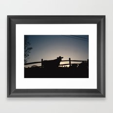 Moove Framed Art Print