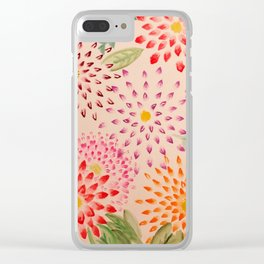 Starburst Scatter Clear iPhone Case