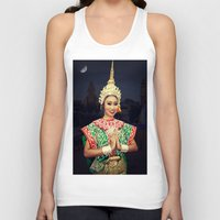 thailand Tank Tops featuring Welcome Thailand by Ian Gledhill