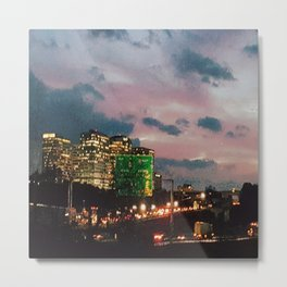 Atlanta Sunset Metal Print