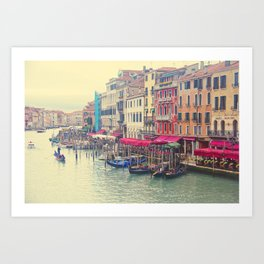 Venetian Highway Art Print