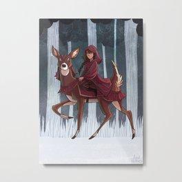 Whitefoot Metal Print