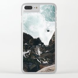 The Ocean Calls (Spring) Clear iPhone Case