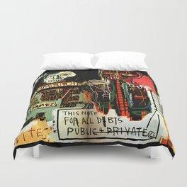 Jean-Michel Basquiat - Notary 1983 Duvet Cover
