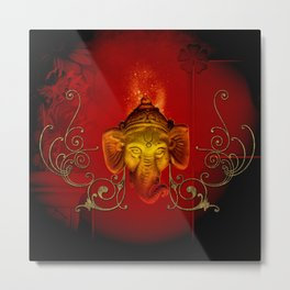 The god Ganesha Metal Print