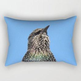 Starling Portrait Rectangular Pillow