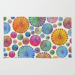 Coctail Umbrellas - Summer Memories Rug