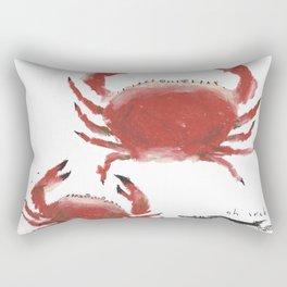 Oh Crab Rectangular Pillow