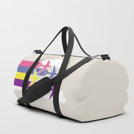 Colorful airplanes Duffle Bag