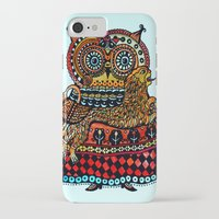 celtic iPhone & iPod Cases featuring Celtic owl ! by oxana zaika